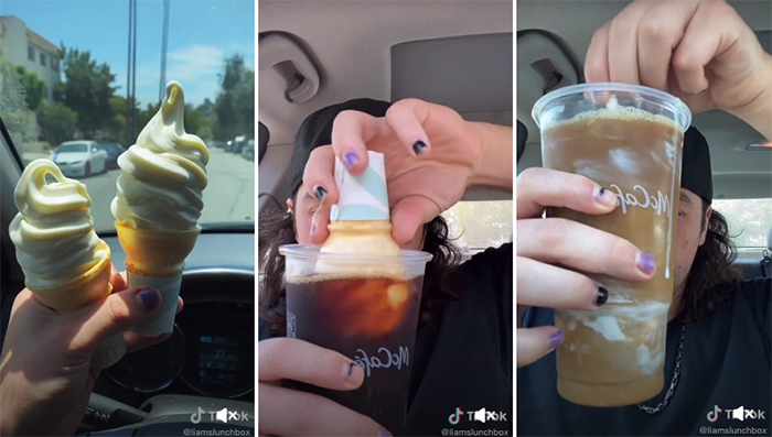 People Dunking Their McDonald's Ice Cream Into Black Coffee Is Becoming A Trend