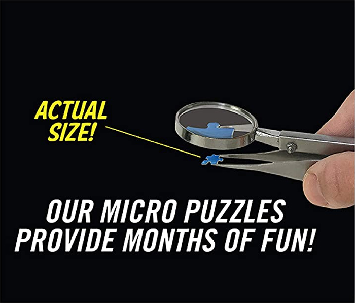 micropuzzle actual size