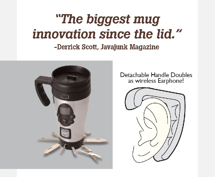mobile mugphone prank gift box features