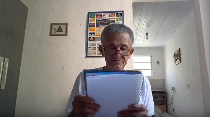 old people being wholesome elderly youtuber thanking subscribers individually