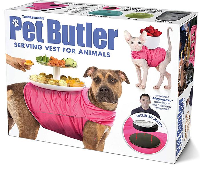 pet butler serving vest for animals