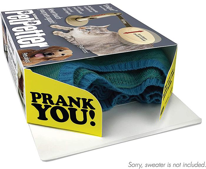prank gift box automatic patting machine