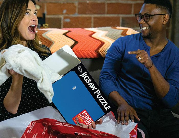 prank gift box hidden real gift inside