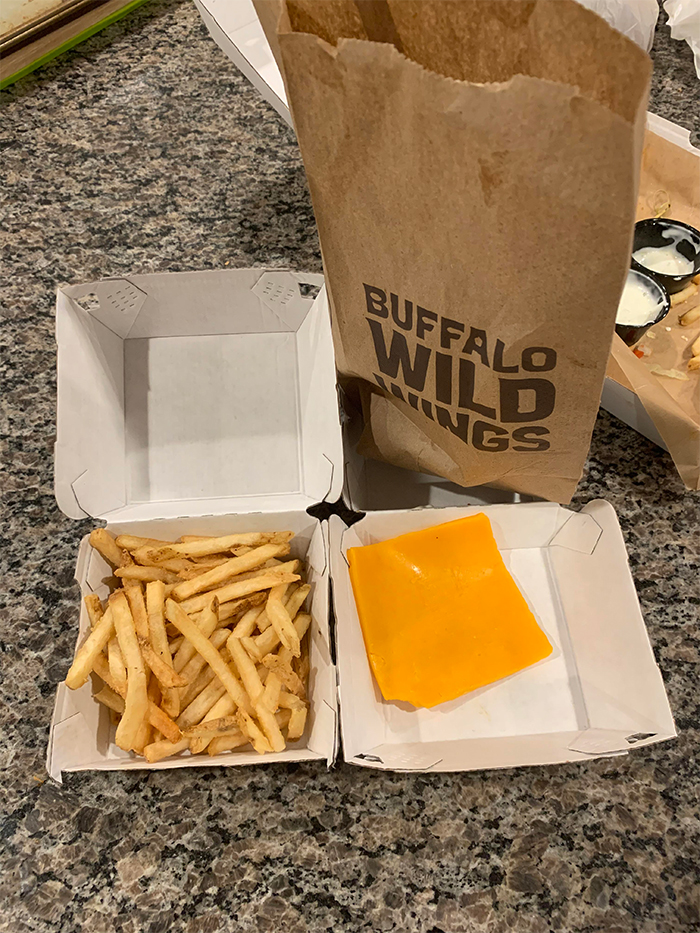 pregnant women struggles cheese fries fail
