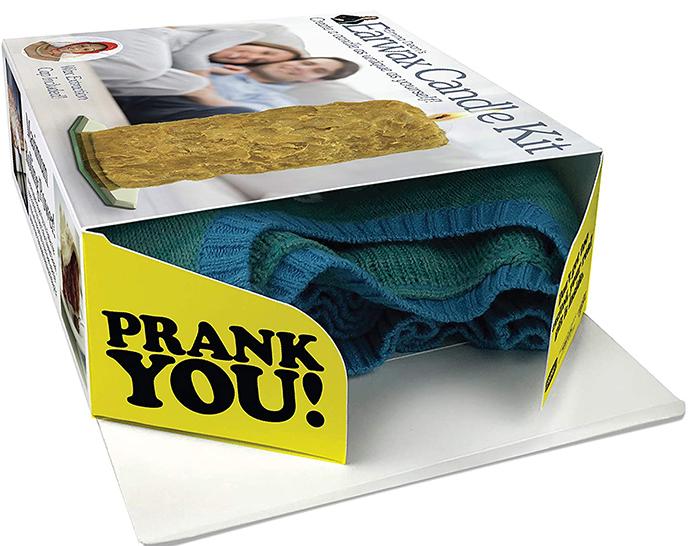 real gift inside prank gift box