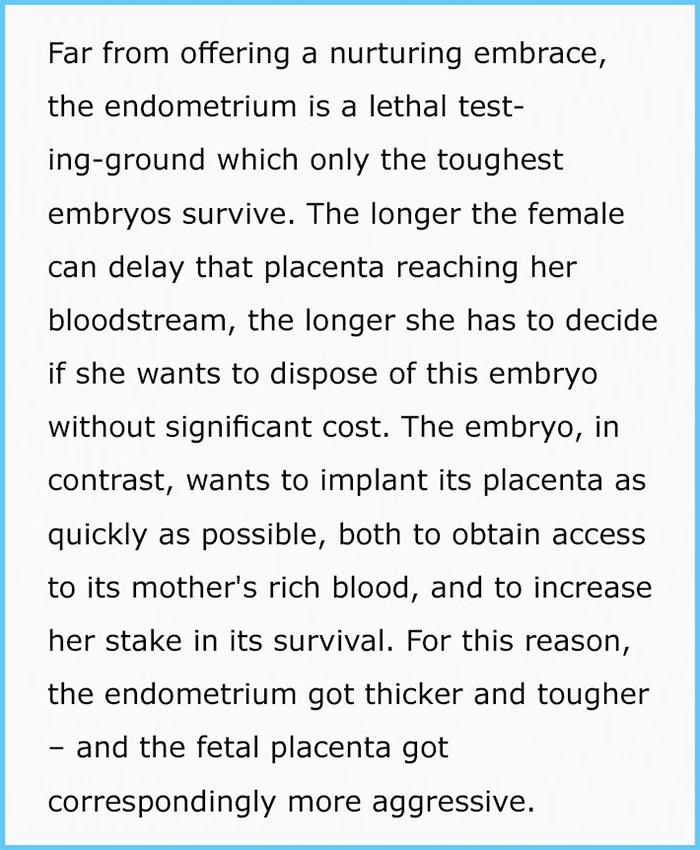 suzanne sadedin pregnancy and periods embryos in endometrium