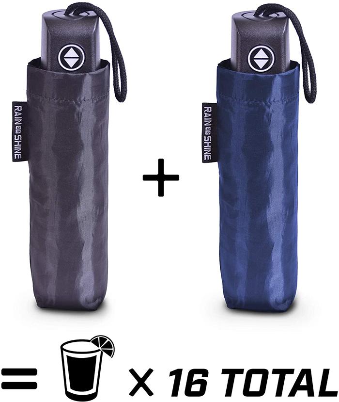 umbrella flask hidden booze