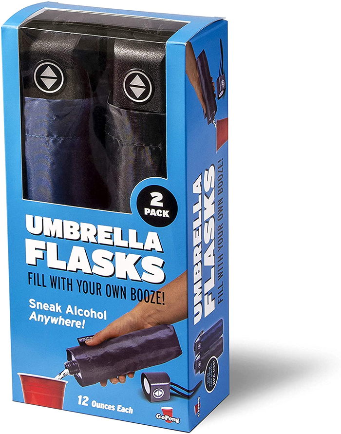 umbrella flask pack of two