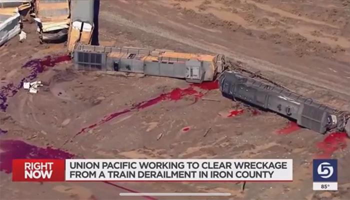uncomfortable photos fuel train wreckage bloodbath