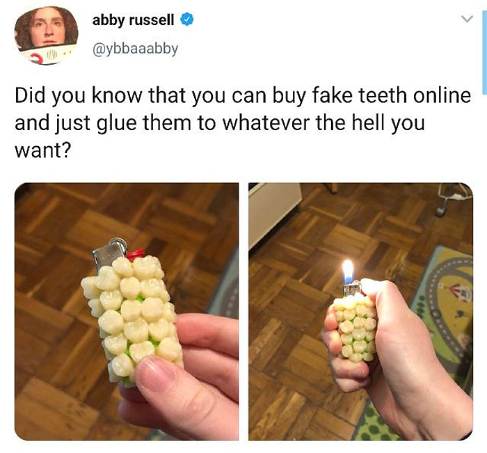 uncomfortable photos teethed objects