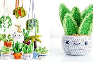 Crochet Succulents