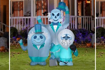 Haunted Mansion Inflatable Featuring The Hitchhiking Ghosts