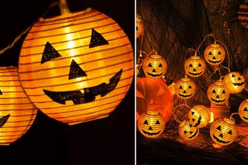 Jack-O-Lantern String Lights