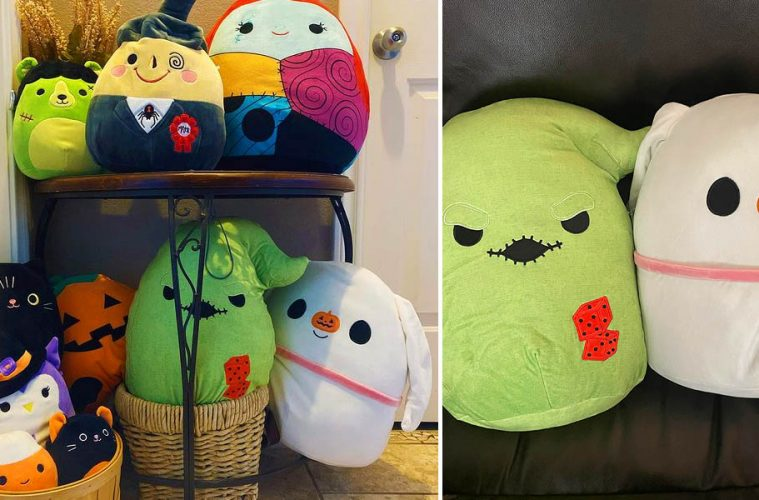 Nightmare Before Christmas Squishmallows