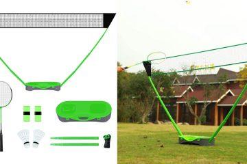 Portable Badminton Net Set