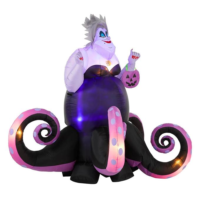 airblown disney villain animated tentacles