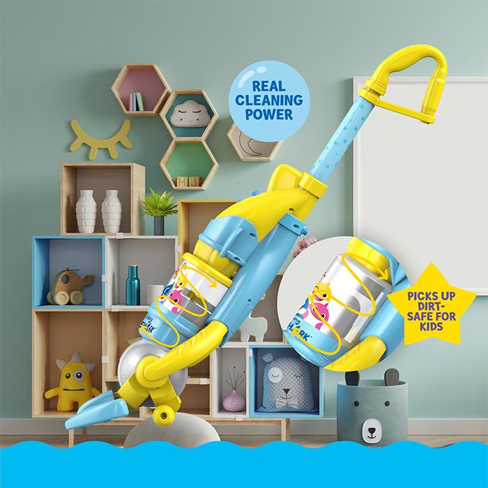 baby shark vacuum toy replica