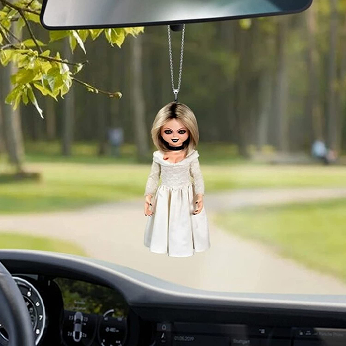 bride of chucky hanging ornament
