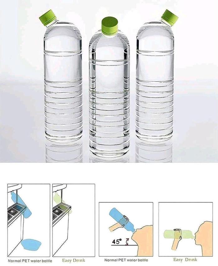 brilliant design ideas angled bottleneck