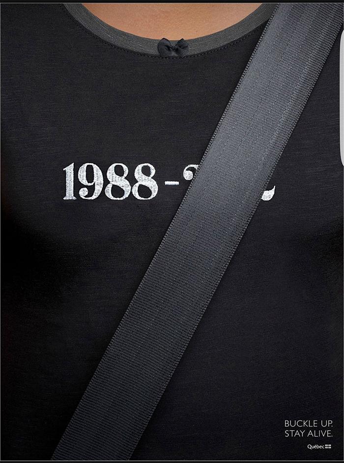 brilliant design ideas awareness ad for seatbelts