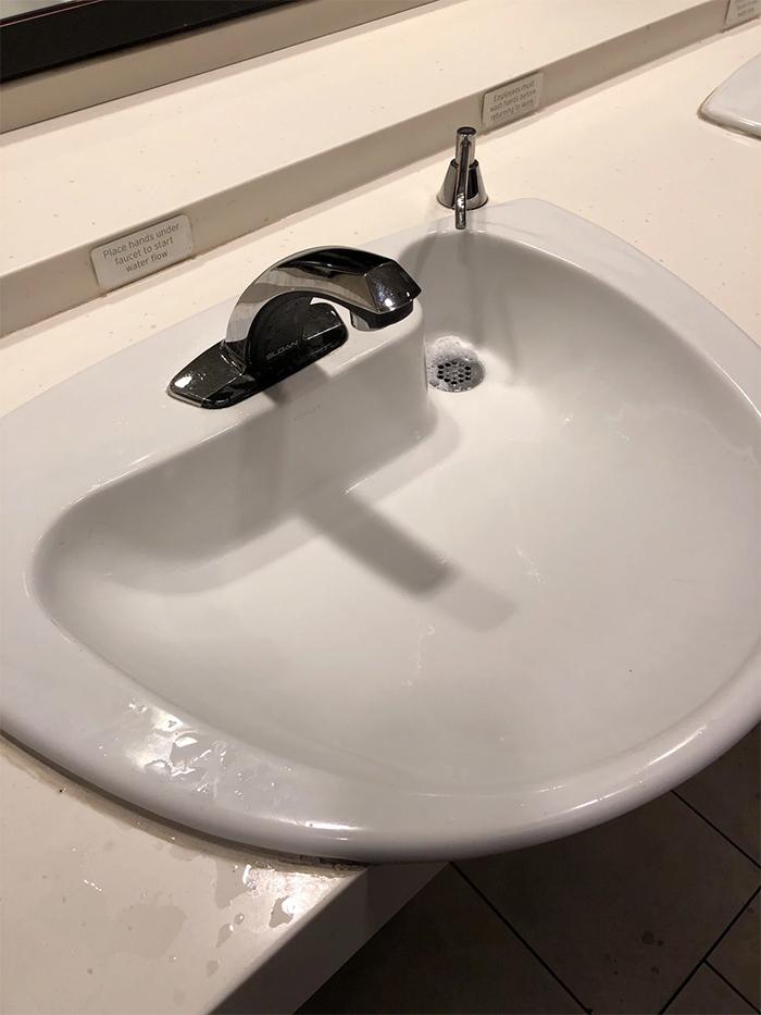 brilliant design ideas drain under soap dispenser