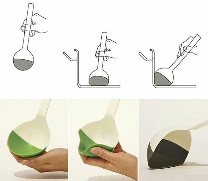 brilliant design ideas flexible tip ladle