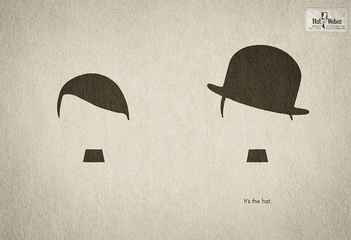 brilliant design ideas german hat company ad