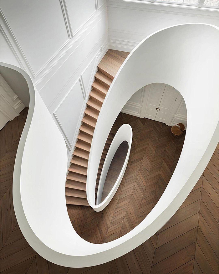brilliant design ideas spiral staircase