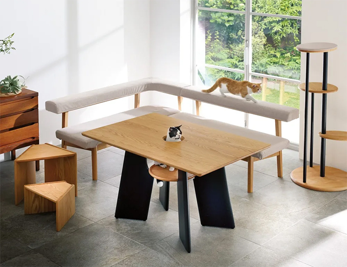 cat table furniture