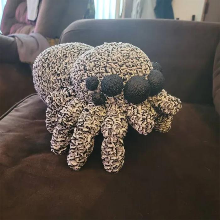 crochet spider pdf pattern