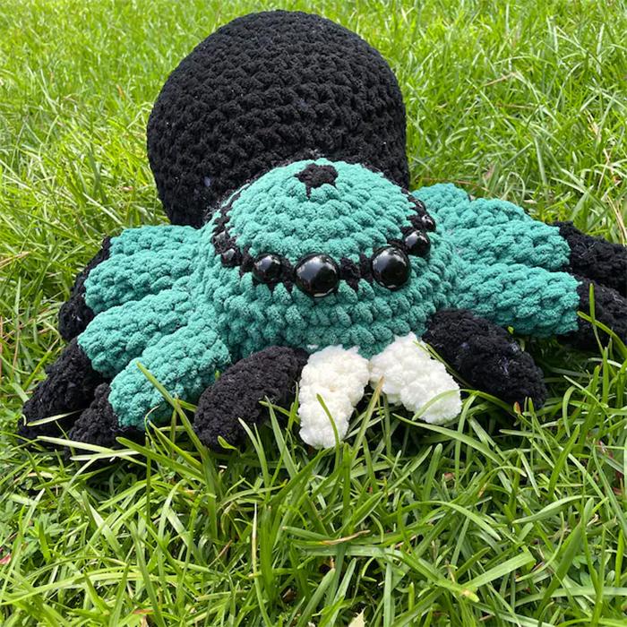 crochet spider yarn