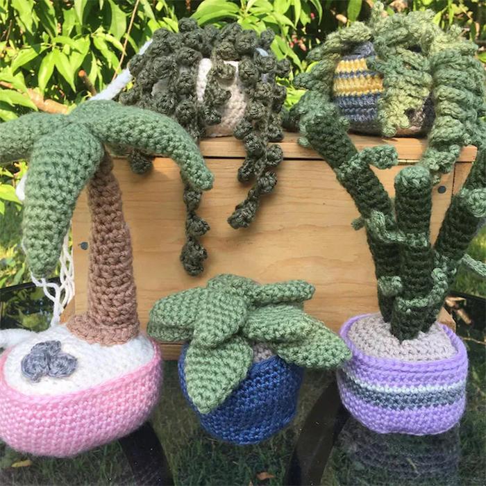 crochet succulents patterns