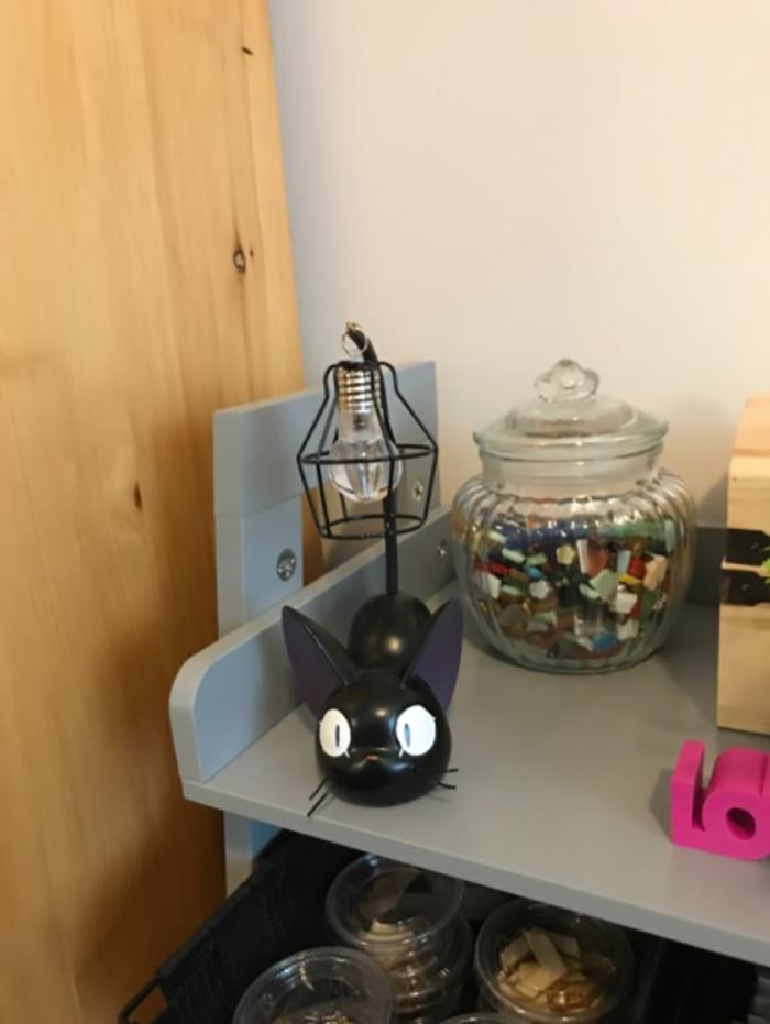 customer review mini kitty desk light