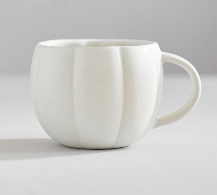 fall-themed mug white