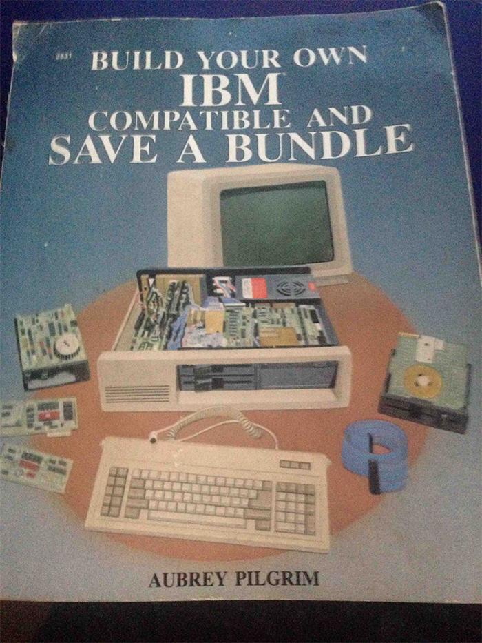 funny grandparents build ibm computer