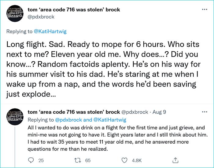 funny kid conversations during flight