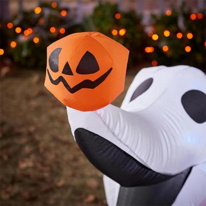 ghost dog light up halloween outdoor decor