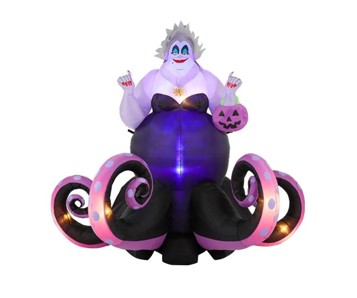 giant inflatable ursula animated tentacles