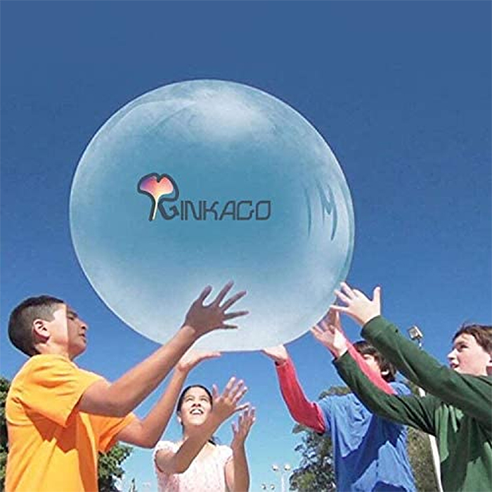 giant inflatable water bubble ball rubber
