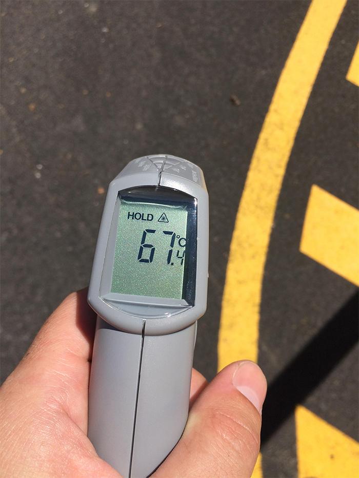 ground temperature too high