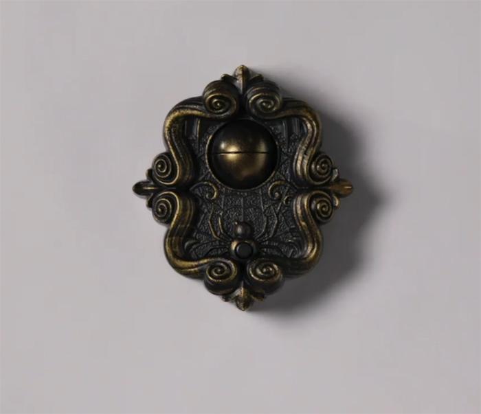halloween doorbell antique design