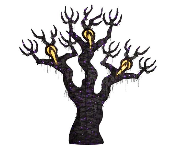 halloween yard decor spooky branches