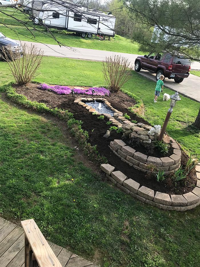 hilarious seniors phallic landscaping
