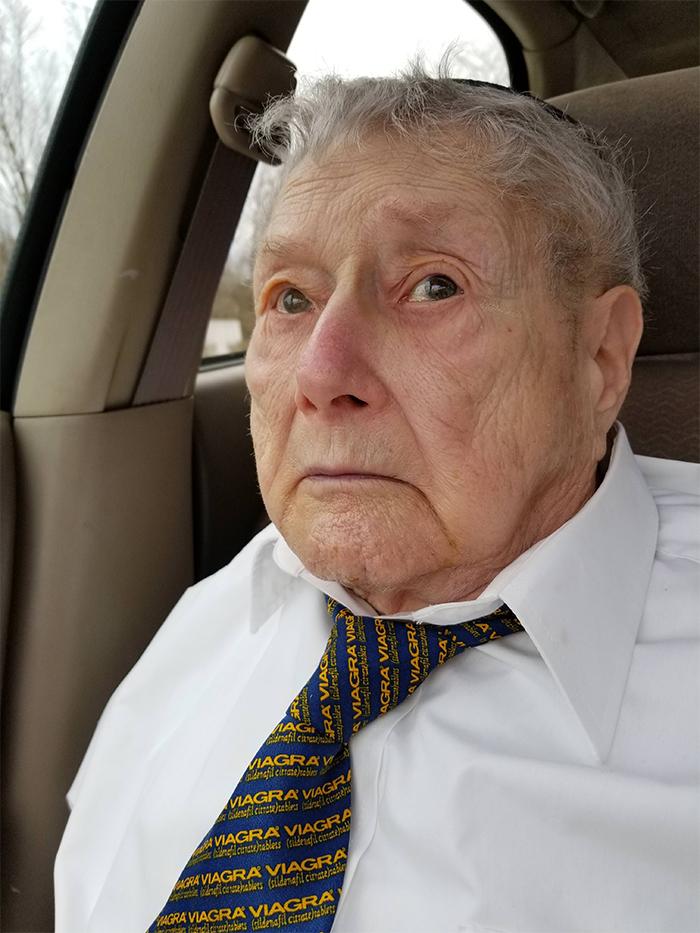 hilarious seniors viagra necktie