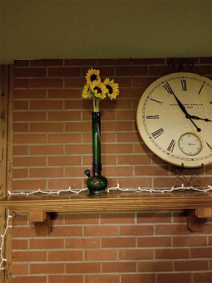 hilarious seniors weed bong flower vase