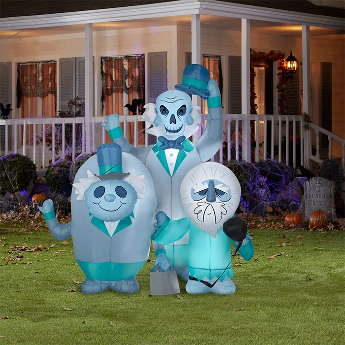 hitchhiking ghosts haunted mansion inflatable
