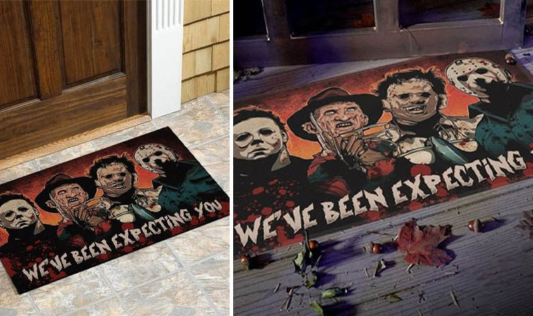 horror doormat