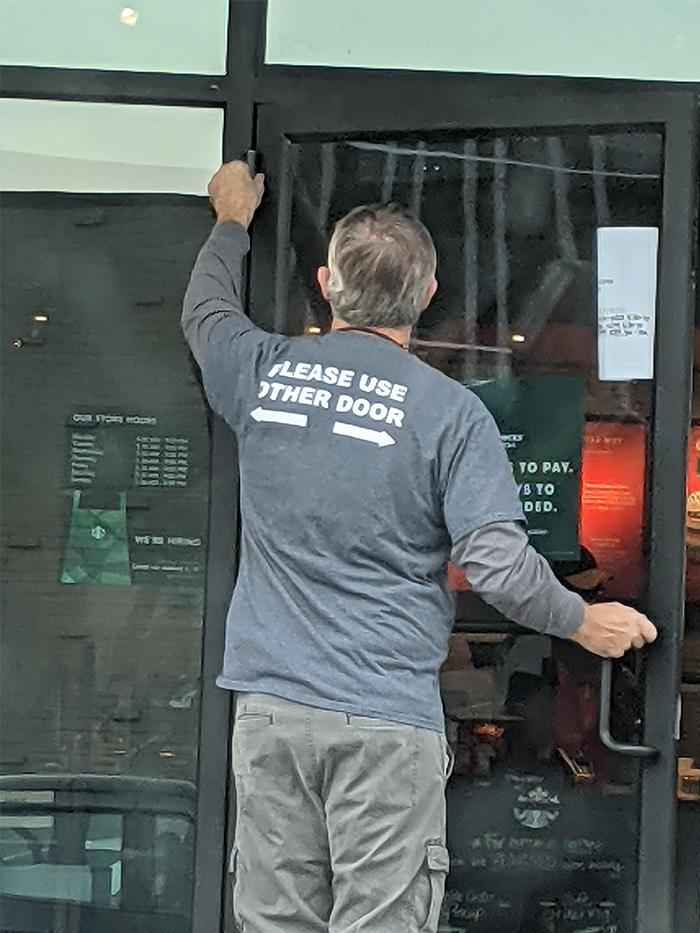 maintenance guy helpful shirt