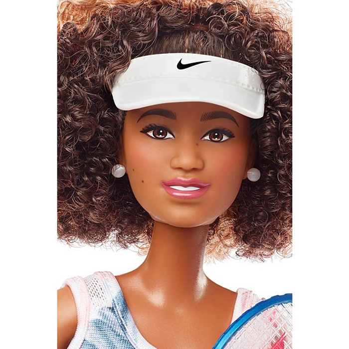 mattel naomi osaka barbie role model doll