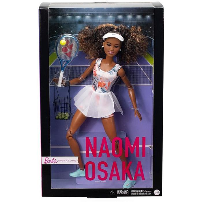 mattel naomi osaka barbie signature doll